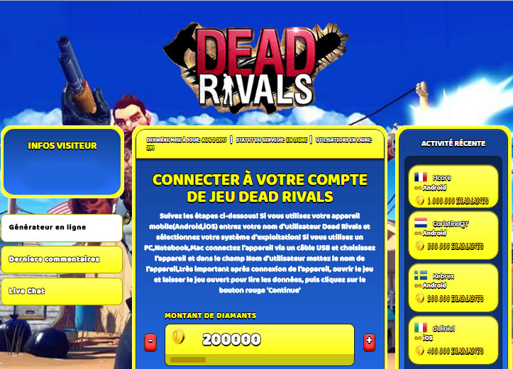 Dead Rivals astuce, Dead Rivals astuce en ligne, Dead Rivals astuce android, Dead Rivals triche Diamants gratuit, Dead Rivals astuce illimite Diamants, Dead Rivals astuce ios, Dead Rivals astuce ipad, Dead Rivals triche iphone, Dead Rivals gratuit Diamants, Dead Rivals astuce samsung galaxy, Dead Rivals triche telecharger, Dead Rivals tricher, Dead Rivals tricheu, Dead Rivals tricheur, astuce Dead Rivals, code de triche Dead Rivals, Dead Rivals astuce, Dead Rivals astuce en ligne, Dead Rivals triche android, Dead Rivals astuce gratuit, Dead Rivals astuce ios, Dead Rivals triche iphone, Dead Rivals astuce telecharger, Dead Rivals astuces, Dead Rivals astuces gratuit, Dead Rivals astuces android, Dead Rivals astuces ios, Dead Rivals astuces telecharger, Dead Rivals astuce Diamants, Dead Rivals cheat, Dead Rivals cheats, Dead Rivals cheat Diamants, Dead Rivals cheat gratuit, Dead Rivals cheat iphone, Dead Rivals cheat telecharger, Dead Rivals hack online, Dead Rivals hack generator, Dead Rivals hack android, Dead Rivals hack Diamants, Dead Rivals illimité Diamants, Dead Rivals mod apk, Dead Rivals mod apk Diamants, Dead Rivals mod apk android, Dead Rivals outil, Dead Rivals outil de piratage, Dead Rivals pirater, Dead Rivals pirater en ligne, Dead Rivals pirater android, Dead Rivals pirater Diamants, Dead Rivals pirater gratuit, Dead Rivals pirater ios, Dead Rivals pirater iphone, Dead Rivals pirater illimite Diamants, Dead Rivals astuce jeu, Dead Rivals astuce triche en ligne, comment tricheur sur Dead Rivals, Diamants gratuit dans Dead Rivals, Dead Rivals illimite Diamants, Dead Rivals hacken, Dead Rivals beschummeln, Dead Rivals betrügen, Dead Rivals betrügen Diamants, Dead Rivals unbegrenzt Diamants, Dead Rivals Diamants frei, Dead Rivals hacken Diamants, Dead Rivals Diamants gratuito, Dead Rivals mod Diamants, Dead Rivals trucchi, Dead Rivals engañar