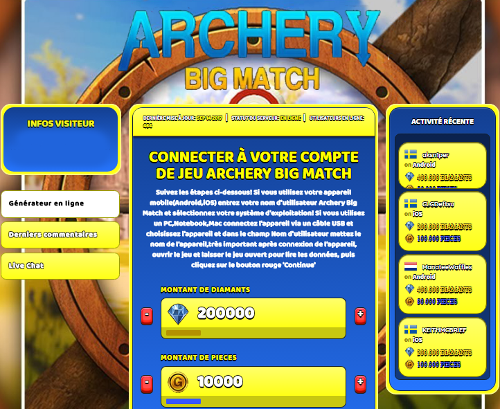 Archery Big Match astuce, Archery Big Match astuce en ligne, Archery Big Match astuce android, Archery Big Match triche Diamants et Pieces gratuit, Archery Big Match astuce illimite Diamants et Pieces, Archery Big Match astuce ios, Archery Big Match astuce ipad, Archery Big Match triche iphone, Archery Big Match gratuit Diamants et Pieces, Archery Big Match astuce samsung galaxy, Archery Big Match triche telecharger, Archery Big Match tricher, Archery Big Match tricheu, Archery Big Match tricheur, astuce Archery Big Match, code de triche Archery Big Match, Archery Big Match astuce, Archery Big Match astuce en ligne, Archery Big Match triche android, Archery Big Match astuce gratuit, Archery Big Match astuce ios, Archery Big Match triche iphone, Archery Big Match astuce telecharger, Archery Big Match astuces, Archery Big Match astuces gratuit, Archery Big Match astuces android, Archery Big Match astuces ios, Archery Big Match astuces telecharger, Archery Big Match astuce Diamants et Pieces, Archery Big Match cheat, Archery Big Match cheats, Archery Big Match cheat Diamants et Pieces, Archery Big Match cheat gratuit, Archery Big Match cheat iphone, Archery Big Match cheat telecharger, Archery Big Match hack online, Archery Big Match hack generator, Archery Big Match hack android, Archery Big Match hack Diamants et Pieces, Archery Big Match illimité Diamants et Pieces, Archery Big Match mod apk, Archery Big Match mod apk Diamants et Pieces, Archery Big Match mod apk android, Archery Big Match outil, Archery Big Match outil de piratage, Archery Big Match pirater, Archery Big Match pirater en ligne, Archery Big Match pirater android, Archery Big Match pirater Diamants et Pieces, Archery Big Match pirater gratuit, Archery Big Match pirater ios, Archery Big Match pirater iphone, Archery Big Match pirater illimite Diamants et Pieces, Archery Big Match astuce jeu, Archery Big Match astuce triche en ligne, comment tricheur sur Archery Big Match, Diamants et Pieces gratuit dans Archery Big Match, Archery Big Match illimite Diamants et Pieces, Archery Big Match hacken, Archery Big Match beschummeln, Archery Big Match betrügen, Archery Big Match betrügen Diamants et Pieces, Archery Big Match unbegrenzt Diamants et Pieces, Archery Big Match Diamants et Pieces frei, Archery Big Match hacken Diamants et Pieces, Archery Big Match Diamants et Pieces gratuito, Archery Big Match mod Diamants et Pieces, Archery Big Match trucchi, Archery Big Match engañar