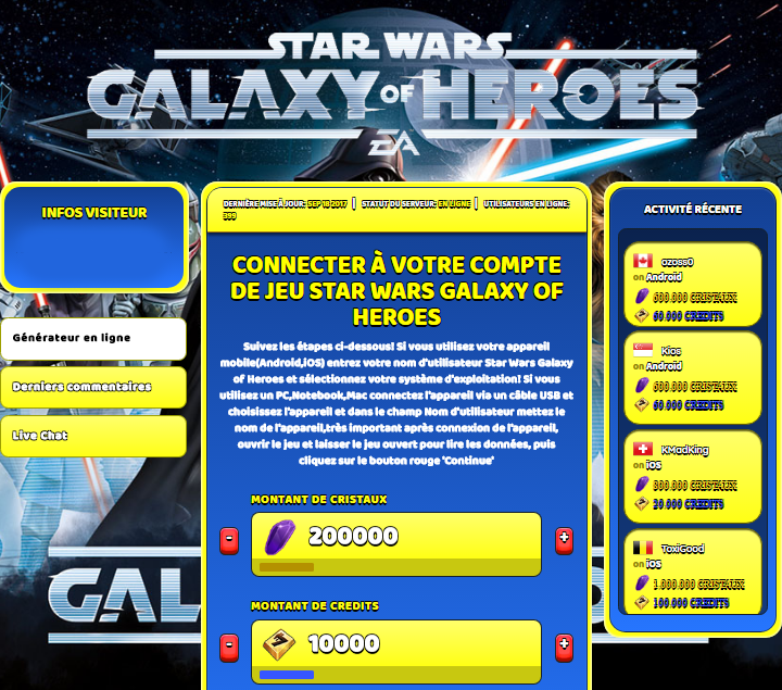 Star Wars Galaxy of Heroes astuce, Star Wars Galaxy of Heroes astuce en ligne, Star Wars Galaxy of Heroes astuce android, Star Wars Galaxy of Heroes triche Cristaux et Credits gratuit, Star Wars Galaxy of Heroes astuce illimite Cristaux et Credits, Star Wars Galaxy of Heroes astuce ios, Star Wars Galaxy of Heroes astuce ipad, Star Wars Galaxy of Heroes triche iphone, Star Wars Galaxy of Heroes gratuit Cristaux et Credits, Star Wars Galaxy of Heroes astuce samsung galaxy, Star Wars Galaxy of Heroes triche telecharger, Star Wars Galaxy of Heroes tricher, Star Wars Galaxy of Heroes tricheu, Star Wars Galaxy of Heroes tricheur, astuce Star Wars Galaxy of Heroes, code de triche Star Wars Galaxy of Heroes, Star Wars Galaxy of Heroes astuce, Star Wars Galaxy of Heroes astuce en ligne, Star Wars Galaxy of Heroes triche android, Star Wars Galaxy of Heroes astuce gratuit, Star Wars Galaxy of Heroes astuce ios, Star Wars Galaxy of Heroes triche iphone, Star Wars Galaxy of Heroes astuce telecharger, Star Wars Galaxy of Heroes astuces, Star Wars Galaxy of Heroes astuces gratuit, Star Wars Galaxy of Heroes astuces android, Star Wars Galaxy of Heroes astuces ios, Star Wars Galaxy of Heroes astuces telecharger, Star Wars Galaxy of Heroes astuce Cristaux et Credits, Star Wars Galaxy of Heroes cheat, Star Wars Galaxy of Heroes cheats, Star Wars Galaxy of Heroes cheat Cristaux et Credits, Star Wars Galaxy of Heroes cheat gratuit, Star Wars Galaxy of Heroes cheat iphone, Star Wars Galaxy of Heroes cheat telecharger, Star Wars Galaxy of Heroes hack online, Star Wars Galaxy of Heroes hack generator, Star Wars Galaxy of Heroes hack android, Star Wars Galaxy of Heroes hack Cristaux et Credits, Star Wars Galaxy of Heroes illimité Cristaux et Credits, Star Wars Galaxy of Heroes mod apk, Star Wars Galaxy of Heroes mod apk Cristaux et Credits, Star Wars Galaxy of Heroes mod apk android, Star Wars Galaxy of Heroes outil, Star Wars Galaxy of Heroes outil de piratage, Star Wars Galaxy of Heroes pirater, Star Wars Galaxy of Heroes pirater en ligne, Star Wars Galaxy of Heroes pirater android, Star Wars Galaxy of Heroes pirater Cristaux et Credits, Star Wars Galaxy of Heroes pirater gratuit, Star Wars Galaxy of Heroes pirater ios, Star Wars Galaxy of Heroes pirater iphone, Star Wars Galaxy of Heroes pirater illimite Cristaux et Credits, Star Wars Galaxy of Heroes astuce jeu, Star Wars Galaxy of Heroes astuce triche en ligne, comment tricheur sur Star Wars Galaxy of Heroes, Cristaux et Credits gratuit dans Star Wars Galaxy of Heroes, Star Wars Galaxy of Heroes illimite Cristaux et Credits, Star Wars Galaxy of Heroes hacken, Star Wars Galaxy of Heroes beschummeln, Star Wars Galaxy of Heroes betrügen, Star Wars Galaxy of Heroes betrügen Cristaux et Credits, Star Wars Galaxy of Heroes unbegrenzt Cristaux et Credits, Star Wars Galaxy of Heroes Cristaux et Credits frei, Star Wars Galaxy of Heroes hacken Cristaux et Credits, Star Wars Galaxy of Heroes Cristaux et Credits gratuito, Star Wars Galaxy of Heroes mod Cristaux et Credits, Star Wars Galaxy of Heroes trucchi, Star Wars Galaxy of Heroes engañar