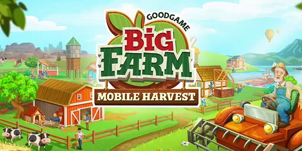 Big Farm Mobile Harvest Astuce Triche En Ligne Dollars et Or Illimite