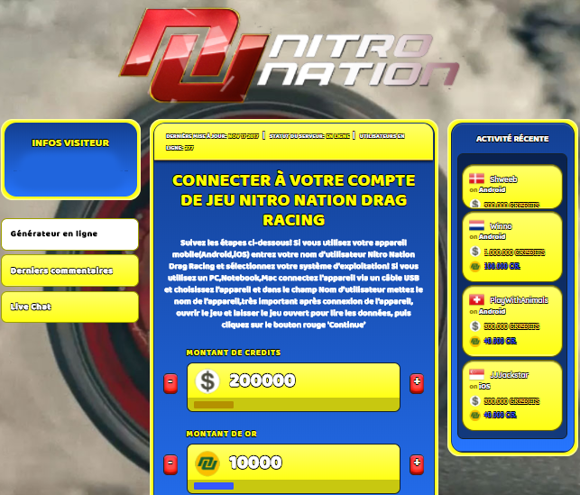 Nitro Nation Drag Racing astuce, Nitro Nation Drag Racing astuce en ligne, Nitro Nation Drag Racing astuce android, Nitro Nation Drag Racing triche Credits et Or gratuit, Nitro Nation Drag Racing astuce illimite Credits et Or, Nitro Nation Drag Racing astuce ios, Nitro Nation Drag Racing astuce ipad, Nitro Nation Drag Racing triche iphone, Nitro Nation Drag Racing gratuit Credits et Or, Nitro Nation Drag Racing astuce samsung galaxy, Nitro Nation Drag Racing triche telecharger, Nitro Nation Drag Racing tricher, Nitro Nation Drag Racing tricheu, Nitro Nation Drag Racing tricheur, astuce Nitro Nation Drag Racing, code de triche Nitro Nation Drag Racing, Nitro Nation Drag Racing astuce, Nitro Nation Drag Racing astuce en ligne, Nitro Nation Drag Racing triche android, Nitro Nation Drag Racing astuce gratuit, Nitro Nation Drag Racing astuce ios, Nitro Nation Drag Racing triche iphone, Nitro Nation Drag Racing astuce telecharger, Nitro Nation Drag Racing astuces, Nitro Nation Drag Racing astuces gratuit, Nitro Nation Drag Racing astuces android, Nitro Nation Drag Racing astuces ios, Nitro Nation Drag Racing astuces telecharger, Nitro Nation Drag Racing astuce Credits et Or, Nitro Nation Drag Racing cheat, Nitro Nation Drag Racing cheats, Nitro Nation Drag Racing cheat Credits et Or, Nitro Nation Drag Racing cheat gratuit, Nitro Nation Drag Racing cheat iphone, Nitro Nation Drag Racing cheat telecharger, Nitro Nation Drag Racing hack online, Nitro Nation Drag Racing hack generator, Nitro Nation Drag Racing hack android, Nitro Nation Drag Racing hack Credits et Or, Nitro Nation Drag Racing illimité Credits et Or, Nitro Nation Drag Racing mod apk, Nitro Nation Drag Racing mod apk Credits et Or, Nitro Nation Drag Racing mod apk android, Nitro Nation Drag Racing outil, Nitro Nation Drag Racing outil de piratage, Nitro Nation Drag Racing pirater, Nitro Nation Drag Racing pirater en ligne, Nitro Nation Drag Racing pirater android, Nitro Nation Drag Racing pirater Credits et Or, Nitro Nation Drag Racing pirater gratuit, Nitro Nation Drag Racing pirater ios, Nitro Nation Drag Racing pirater iphone, Nitro Nation Drag Racing pirater illimite Credits et Or, Nitro Nation Drag Racing astuce jeu, Nitro Nation Drag Racing astuce triche en ligne, comment tricheur sur Nitro Nation Drag Racing, Credits et Or gratuit dans Nitro Nation Drag Racing, Nitro Nation Drag Racing illimite Credits et Or, Nitro Nation Drag Racing hacken, Nitro Nation Drag Racing beschummeln, Nitro Nation Drag Racing betrügen, Nitro Nation Drag Racing betrügen Credits et Or, Nitro Nation Drag Racing unbegrenzt Credits et Or, Nitro Nation Drag Racing Credits et Or frei, Nitro Nation Drag Racing hacken Credits et Or, Nitro Nation Drag Racing Credits et Or gratuito, Nitro Nation Drag Racing mod Credits et Or, Nitro Nation Drag Racing trucchi, Nitro Nation Drag Racing engañar
