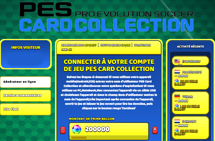 PES Card Collection astuce, PES Card Collection astuce en ligne, PES Card Collection astuce android, PES Card Collection triche Prime Ballon gratuit, PES Card Collection astuce illimite Prime Ballon, PES Card Collection astuce ios, PES Card Collection astuce ipad, PES Card Collection triche iphone, PES Card Collection gratuit Prime Ballon, PES Card Collection astuce samsung galaxy, PES Card Collection triche telecharger, PES Card Collection tricher, PES Card Collection tricheu, PES Card Collection tricheur, astuce PES Card Collection, code de triche PES Card Collection, PES Card Collection astuce, PES Card Collection astuce en ligne, PES Card Collection triche android, PES Card Collection astuce gratuit, PES Card Collection astuce ios, PES Card Collection triche iphone, PES Card Collection astuce telecharger, PES Card Collection astuces, PES Card Collection astuces gratuit, PES Card Collection astuces android, PES Card Collection astuces ios, PES Card Collection astuces telecharger, PES Card Collection astuce Prime Ballon, PES Card Collection cheat, PES Card Collection cheats, PES Card Collection cheat Prime Ballon, PES Card Collection cheat gratuit, PES Card Collection cheat iphone, PES Card Collection cheat telecharger, PES Card Collection hack online, PES Card Collection hack generator, PES Card Collection hack android, PES Card Collection hack Prime Ballon, PES Card Collection illimité Prime Ballon, PES Card Collection mod apk, PES Card Collection mod apk Prime Ballon, PES Card Collection mod apk android, PES Card Collection outil, PES Card Collection outil de piratage, PES Card Collection pirater, PES Card Collection pirater en ligne, PES Card Collection pirater android, PES Card Collection pirater Prime Ballon, PES Card Collection pirater gratuit, PES Card Collection pirater ios, PES Card Collection pirater iphone, PES Card Collection pirater illimite Prime Ballon, PES Card Collection astuce jeu, PES Card Collection astuce triche en ligne, comment tricheur sur PES Card Collection, Prime Ballon gratuit dans PES Card Collection, PES Card Collection illimite Prime Ballon, PES Card Collection hacken, PES Card Collection beschummeln, PES Card Collection betrügen, PES Card Collection betrügen Prime Ballon, PES Card Collection unbegrenzt Prime Ballon, PES Card Collection Prime Ballon frei, PES Card Collection hacken Prime Ballon, PES Card Collection Prime Ballon gratuito, PES Card Collection mod Prime Ballon, PES Card Collection trucchi, PES Card Collection engañar