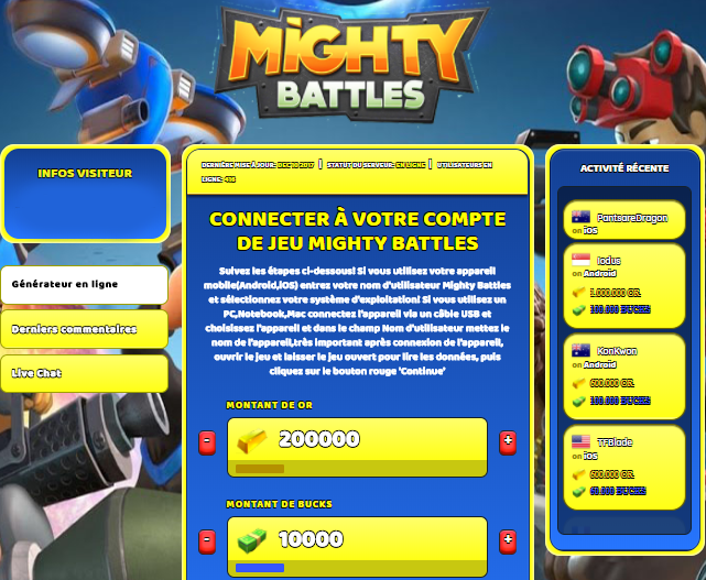 Mighty Battles astuce, Mighty Battles astuce en ligne, Mighty Battles astuce android, Mighty Battles triche Or et Bucks gratuit, Mighty Battles astuce illimite Or et Bucks, Mighty Battles astuce ios, Mighty Battles astuce ipad, Mighty Battles triche iphone, Mighty Battles gratuit Or et Bucks, Mighty Battles astuce samsung galaxy, Mighty Battles triche telecharger, Mighty Battles tricher, Mighty Battles tricheu, Mighty Battles tricheur, astuce Mighty Battles, code de triche Mighty Battles, Mighty Battles astuce, Mighty Battles astuce en ligne, Mighty Battles triche android, Mighty Battles astuce gratuit, Mighty Battles astuce ios, Mighty Battles triche iphone, Mighty Battles astuce telecharger, Mighty Battles astuces, Mighty Battles astuces gratuit, Mighty Battles astuces android, Mighty Battles astuces ios, Mighty Battles astuces telecharger, Mighty Battles astuce Or et Bucks, Mighty Battles cheat, Mighty Battles cheats, Mighty Battles cheat Or et Bucks, Mighty Battles cheat gratuit, Mighty Battles cheat iphone, Mighty Battles cheat telecharger, Mighty Battles hack online, Mighty Battles hack generator, Mighty Battles hack android, Mighty Battles hack Or et Bucks, Mighty Battles illimité Or et Bucks, Mighty Battles mod apk, Mighty Battles mod apk Or et Bucks, Mighty Battles mod apk android, Mighty Battles outil, Mighty Battles outil de piratage, Mighty Battles pirater, Mighty Battles pirater en ligne, Mighty Battles pirater android, Mighty Battles pirater Or et Bucks, Mighty Battles pirater gratuit, Mighty Battles pirater ios, Mighty Battles pirater iphone, Mighty Battles pirater illimite Or et Bucks, Mighty Battles astuce jeu, Mighty Battles astuce triche en ligne, comment tricheur sur Mighty Battles, Or et Bucks gratuit dans Mighty Battles, Mighty Battles illimite Or et Bucks, Mighty Battles hacken, Mighty Battles beschummeln, Mighty Battles betrügen, Mighty Battles betrügen Or et Bucks, Mighty Battles unbegrenzt Or et Bucks, Mighty Battles Or et Bucks frei, Mighty Battles hacken Or et Bucks, Mighty Battles Or et Bucks gratuito, Mighty Battles mod Or et Bucks, Mighty Battles trucchi, Mighty Battles engañar