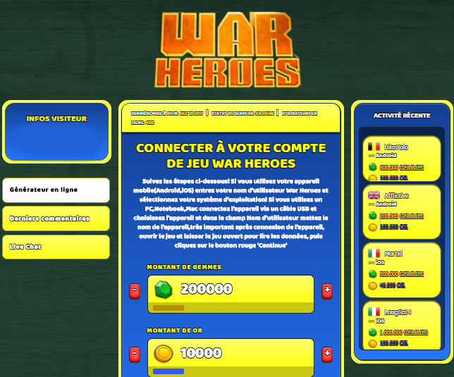 War Heroes astuce, War Heroes astuce en ligne, War Heroes astuce android, War Heroes triche Gemmes et Or gratuit, War Heroes astuce illimite Gemmes et Or, War Heroes astuce ios, War Heroes astuce ipad, War Heroes triche iphone, War Heroes gratuit Gemmes et Or, War Heroes astuce samsung galaxy, War Heroes triche telecharger, War Heroes tricher, War Heroes tricheu, War Heroes tricheur, astuce War Heroes, code de triche War Heroes, War Heroes astuce, War Heroes astuce en ligne, War Heroes triche android, War Heroes astuce gratuit, War Heroes astuce ios, War Heroes triche iphone, War Heroes astuce telecharger, War Heroes astuces, War Heroes astuces gratuit, War Heroes astuces android, War Heroes astuces ios, War Heroes astuces telecharger, War Heroes astuce Gemmes et Or, War Heroes cheat, War Heroes cheats, War Heroes cheat Gemmes et Or, War Heroes cheat gratuit, War Heroes cheat iphone, War Heroes cheat telecharger, War Heroes hack online, War Heroes hack generator, War Heroes hack android, War Heroes hack Gemmes et Or, War Heroes illimité Gemmes et Or, War Heroes mod apk, War Heroes mod apk Gemmes et Or, War Heroes mod apk android, War Heroes outil, War Heroes outil de piratage, War Heroes pirater, War Heroes pirater en ligne, War Heroes pirater android, War Heroes pirater Gemmes et Or, War Heroes pirater gratuit, War Heroes pirater ios, War Heroes pirater iphone, War Heroes pirater illimite Gemmes et Or, War Heroes astuce jeu, War Heroes astuce triche en ligne, comment tricheur sur War Heroes, Gemmes et Or gratuit dans War Heroes, War Heroes illimite Gemmes et Or, War Heroes hacken, War Heroes beschummeln, War Heroes betrügen, War Heroes betrügen Gemmes et Or, War Heroes unbegrenzt Gemmes et Or, War Heroes Gemmes et Or frei, War Heroes hacken Gemmes et Or, War Heroes Gemmes et Or gratuito, War Heroes mod Gemmes et Or, War Heroes trucchi, War Heroes engañar