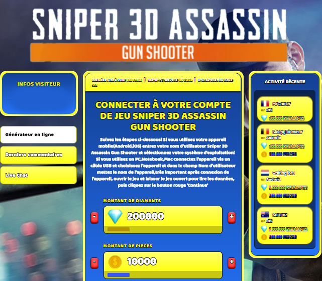 Sniper 3D Assassin Gun Shooter astuce, Sniper 3D Assassin Gun Shooter astuce en ligne, Sniper 3D Assassin Gun Shooter astuce android, Sniper 3D Assassin Gun Shooter triche Diamants et Pieces gratuit, Sniper 3D Assassin Gun Shooter astuce illimite Diamants et Pieces, Sniper 3D Assassin Gun Shooter astuce ios, Sniper 3D Assassin Gun Shooter astuce ipad, Sniper 3D Assassin Gun Shooter triche iphone, Sniper 3D Assassin Gun Shooter gratuit Diamants et Pieces, Sniper 3D Assassin Gun Shooter astuce samsung galaxy, Sniper 3D Assassin Gun Shooter triche telecharger, Sniper 3D Assassin Gun Shooter tricher, Sniper 3D Assassin Gun Shooter tricheu, Sniper 3D Assassin Gun Shooter tricheur, astuce Sniper 3D Assassin Gun Shooter, code de triche Sniper 3D Assassin Gun Shooter, Sniper 3D Assassin Gun Shooter astuce, Sniper 3D Assassin Gun Shooter astuce en ligne, Sniper 3D Assassin Gun Shooter triche android, Sniper 3D Assassin Gun Shooter astuce gratuit, Sniper 3D Assassin Gun Shooter astuce ios, Sniper 3D Assassin Gun Shooter triche iphone, Sniper 3D Assassin Gun Shooter astuce telecharger, Sniper 3D Assassin Gun Shooter astuces, Sniper 3D Assassin Gun Shooter astuces gratuit, Sniper 3D Assassin Gun Shooter astuces android, Sniper 3D Assassin Gun Shooter astuces ios, Sniper 3D Assassin Gun Shooter astuces telecharger, Sniper 3D Assassin Gun Shooter astuce Diamants et Pieces, Sniper 3D Assassin Gun Shooter cheat, Sniper 3D Assassin Gun Shooter cheats, Sniper 3D Assassin Gun Shooter cheat Diamants et Pieces, Sniper 3D Assassin Gun Shooter cheat gratuit, Sniper 3D Assassin Gun Shooter cheat iphone, Sniper 3D Assassin Gun Shooter cheat telecharger, Sniper 3D Assassin Gun Shooter hack online, Sniper 3D Assassin Gun Shooter hack generator, Sniper 3D Assassin Gun Shooter hack android, Sniper 3D Assassin Gun Shooter hack Diamants et Pieces, Sniper 3D Assassin Gun Shooter illimité Diamants et Pieces, Sniper 3D Assassin Gun Shooter mod apk, Sniper 3D Assassin Gun Shooter mod apk Diamants et Pieces, Sniper 3D Assassin Gun Shooter mod apk android, Sniper 3D Assassin Gun Shooter outil, Sniper 3D Assassin Gun Shooter outil de piratage, Sniper 3D Assassin Gun Shooter pirater, Sniper 3D Assassin Gun Shooter pirater en ligne, Sniper 3D Assassin Gun Shooter pirater android, Sniper 3D Assassin Gun Shooter pirater Diamants et Pieces, Sniper 3D Assassin Gun Shooter pirater gratuit, Sniper 3D Assassin Gun Shooter pirater ios, Sniper 3D Assassin Gun Shooter pirater iphone, Sniper 3D Assassin Gun Shooter pirater illimite Diamants et Pieces, Sniper 3D Assassin Gun Shooter astuce jeu, Sniper 3D Assassin Gun Shooter astuce triche en ligne, comment tricheur sur Sniper 3D Assassin Gun Shooter, Diamants et Pieces gratuit dans Sniper 3D Assassin Gun Shooter, Sniper 3D Assassin Gun Shooter illimite Diamants et Pieces, Sniper 3D Assassin Gun Shooter hacken, Sniper 3D Assassin Gun Shooter beschummeln, Sniper 3D Assassin Gun Shooter betrügen, Sniper 3D Assassin Gun Shooter betrügen Diamants et Pieces, Sniper 3D Assassin Gun Shooter unbegrenzt Diamants et Pieces, Sniper 3D Assassin Gun Shooter Diamants et Pieces frei, Sniper 3D Assassin Gun Shooter hacken Diamants et Pieces, Sniper 3D Assassin Gun Shooter Diamants et Pieces gratuito, Sniper 3D Assassin Gun Shooter mod Diamants et Pieces, Sniper 3D Assassin Gun Shooter trucchi, Sniper 3D Assassin Gun Shooter engañar