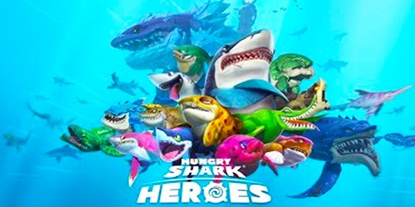 Hungry Shark Heroes Astuce Triche Diamants et Or Illimite Gratuit